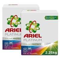 Ariel Platinum Automatic Color Protect Laundry Powder Detergent 2.25kgx2