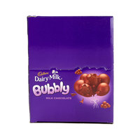 Cadbury Dairy Milk Bubbly 87g x Pack of 12