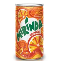 Mirinda Orange Carbonated Soft Drink Mini Can 155ml