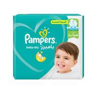 Pampers baby dry diapers Size 6  jumbo pack xl 16 kg 32 diapers
