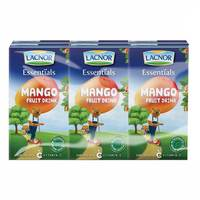 Lacnor Essentials Junior Mango Drink 125mlx6
