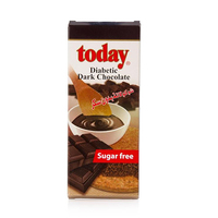 Today Diabetic Dark Chocolate Sugarless 65GR