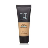 Maybelline New York Foundation Fit Me Matte Sun Beige No 250 30ML