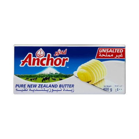 Buy Anchor Unsalted Butter 400 Gm Online Shop Fresh Food On Carrefour Egypt