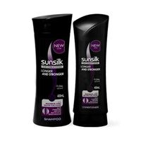 Sinsilk Shampoo Black Shine 400ML + Conditioner -20% Off