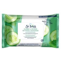 St. Ives Cucumber Refreshing Facial Cleansing Wipes 25 Wipes