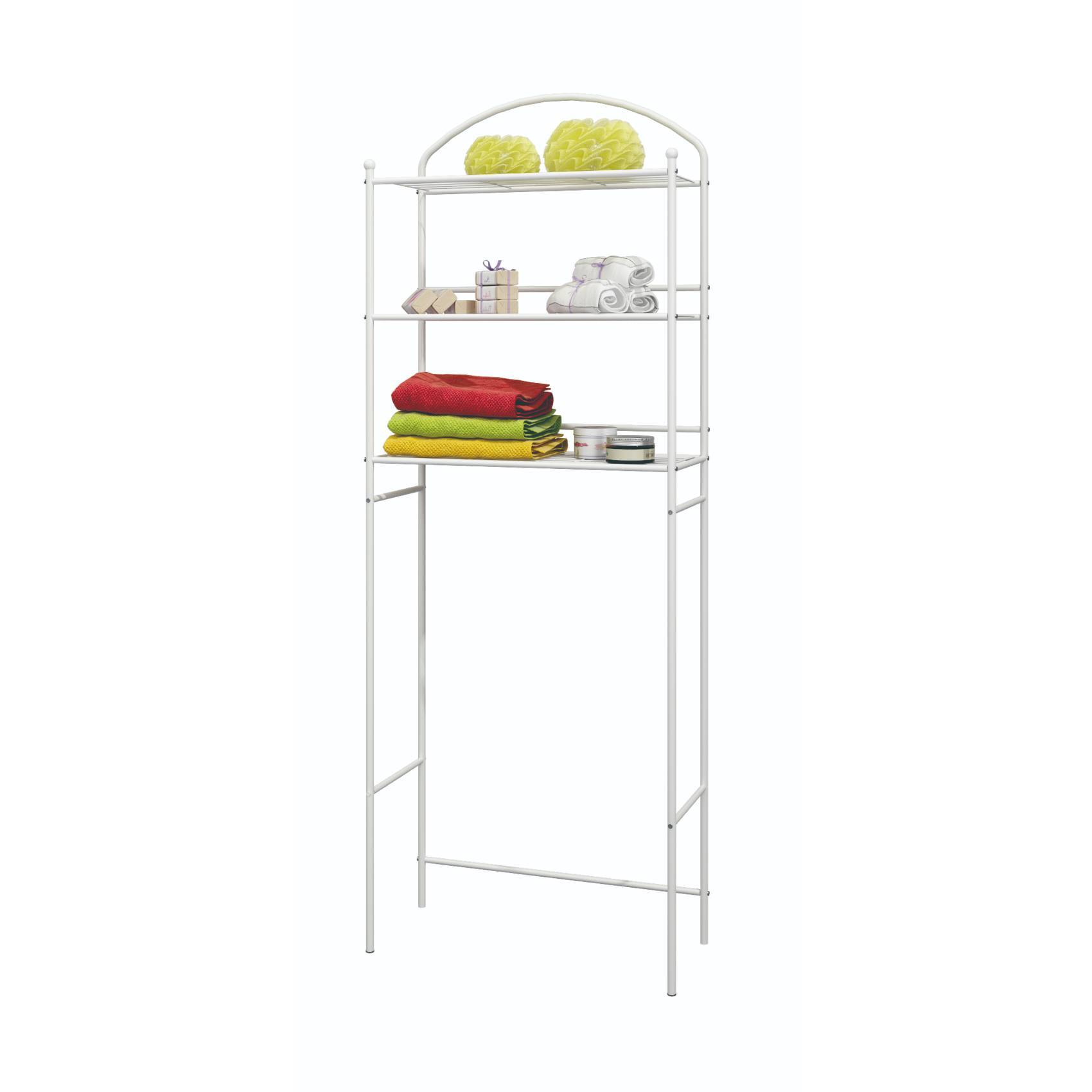 Buy Toilet Storage Rack Over Bathroom Shelf Organizer Online Shop Home Garden On Carrefour Uae