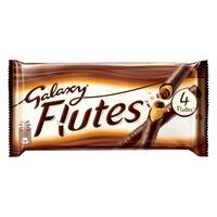 Galaxy Flutes 4 Fingers Chocolate 45g (4 Pieces)