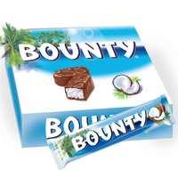 Bounty Milk Chocolate Bars 55g x Pack of 32
