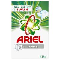 Ariel Automatic Laundry Powder Detergent Original Scent 4.5kg