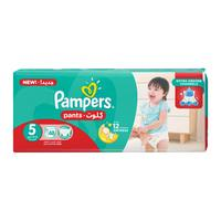 Pampers pants diapers size 5 junior jumbo pack 48 diapers