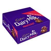 Cadbury Dairy Milk Fruit and Nut 37g x Pack of 12