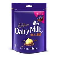 Cadbury Hazelnut Mini Dairy Milk 168g
