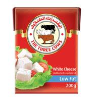 The Three Cows White Cheese Light 200g