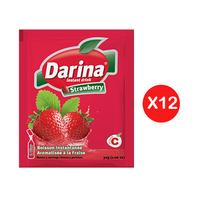 Darina Instant Powder Drink Strawberry 30GR X12