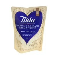 Tilda Coconut and Sesame Basmati Rice 250g