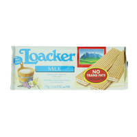 Loacker Milk Crispy Wafers Filled with Milk Cream 175g