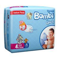 Bambi 4 value pack 4 large 8 - 16 kg x 33