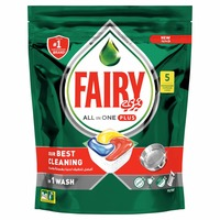 Fairy Dishwasher Detergent Tabltes All in One Plus 5 Tablets