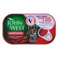 John West Sardines In Spicy Tomato 120g