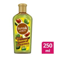 Sunsilk hair oil blooms damage 250 ml