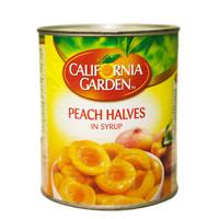 California Garden Peach Halves in Syrup 825g