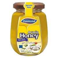 Diamond Acacia Honey Jar 500g