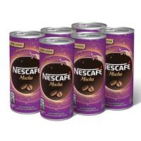 Nescafe Mocha Chilled Coffee 240ml x Pack of 6