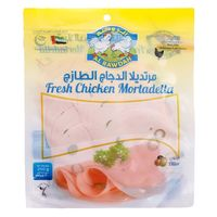 Al Rawdah Mortadella Pepper Chicken 200g