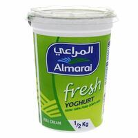 Almarai Full Cream Fresh Yoghurt 500g