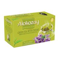 Alokozay Green Tea with Thyme Tea 25 Tea Bags