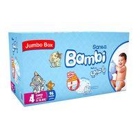 Bambi 4 jumbo box large 8 - 16 kg x 96