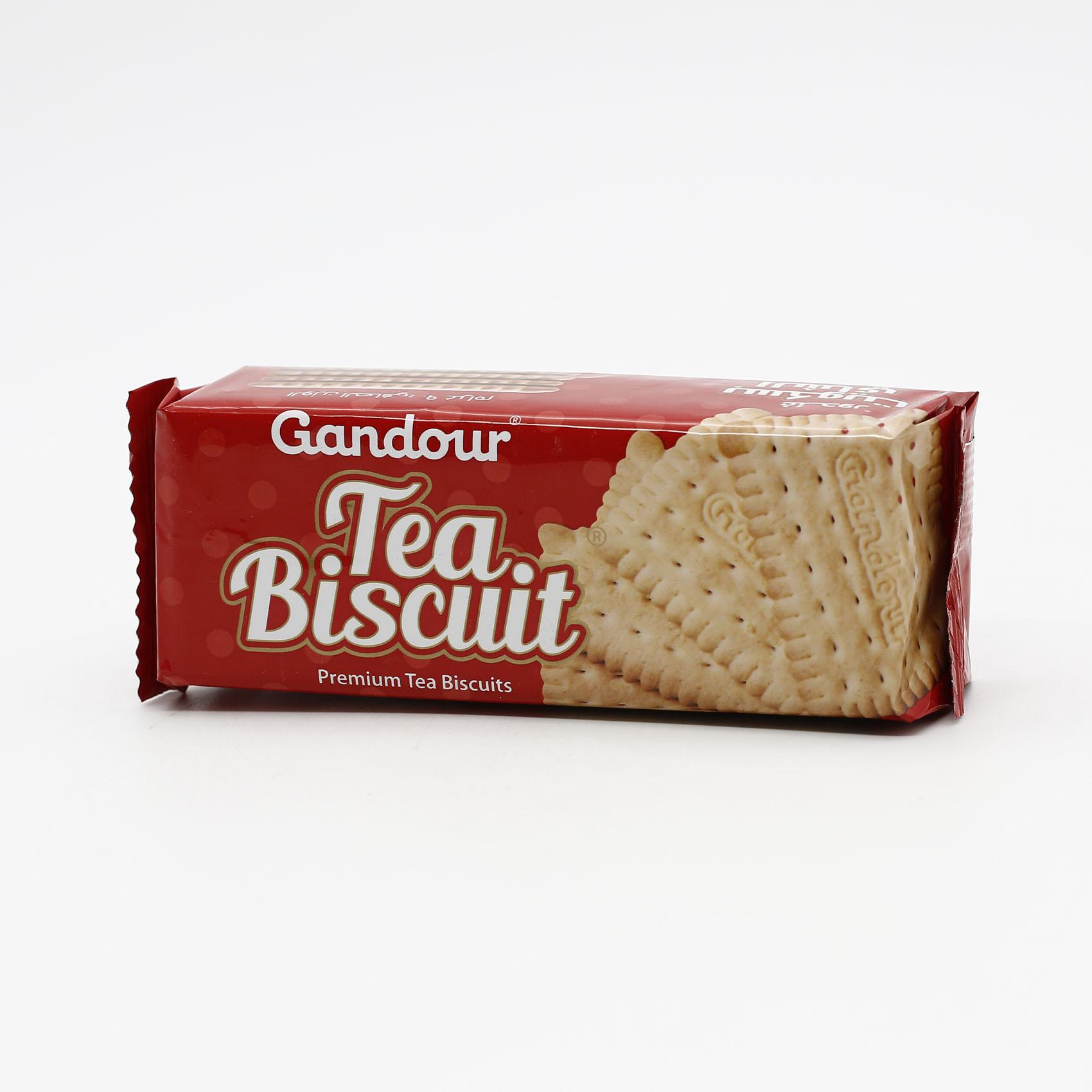 Buy Gandour Tea Biscuit 90 G Online Shop Food Cupboard On Carrefour Saudi Arabia