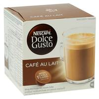 Nescafe Dolce Gusto Cafe Au Lait Coffee 16g x 10 Capsules
