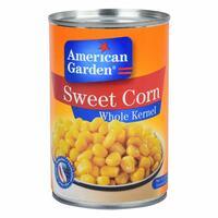 American Garden Whole Kernel Sweet Corn 425g