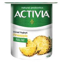 Activia Full Fat Stirred Pineapple Yoghurt 120g