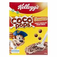Kellogg's Coco Pops Jumbo Chcolate Maize Cereal 375g