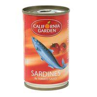 California Garden Sardines in Tomato Sauce 155g
