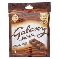 Galaxy Minis Chocolate Bar 150g (12 Pieces)