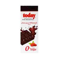 Today Chocolate Dark With Almonds Sugar Free 65GR