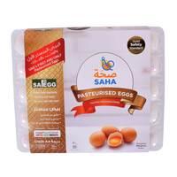 Saha Dubai Pasteurized Medium White Eggs x Pack of 30