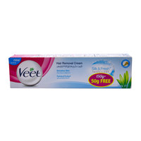 Veet hair removal cream sensitive 150 g + 50 g free