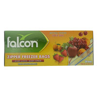 Falcon Zipper Freezer Bags 50 Pieces
