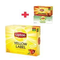 Lipton Yellow Label 100 Tea Bags + 48 Tea Bags
