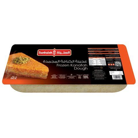 Buy Sunbulah Frozen Kunafah Dough 500 G Online Shop Frozen Food On Carrefour Saudi Arabia