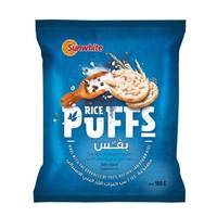 Sunwhite Rice Puffs Salt & Pepper 100g