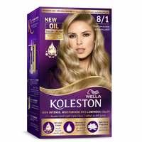 Wella Koleston Permanent Hair Color Kit 8/1 Light Ash Blonde