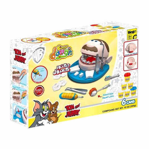 Buy Bingo Tom Jerry Dentist Dough Online Shop Toys Outdoor On Carrefour Egypt