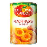 California Garden Peach Halves In Syrup 420g