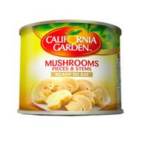 California Garden Pieces And Stems Mushrooms 184g